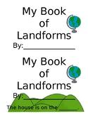 Types of Landforms Book