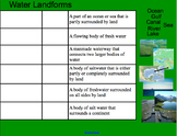 Types of Landforms Smartboard (with Pictures)