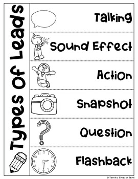 Types of Leads: Posters and Practice