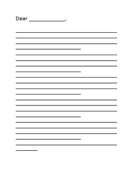 Letter Writing Outline