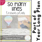 Types of Line Lesson Plan and Activities (based on Core Kn