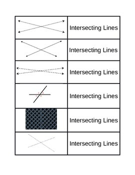 Types of Line sorting game 4.G.1
