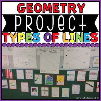 Types of Lines Geometry Project