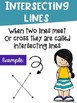 Types of Lines Math Posters with a Colorful Kids Theme