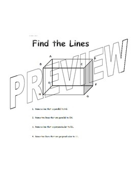Types of Lines Mini Unit