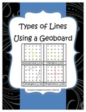 Types of Lines Using a Geoboard