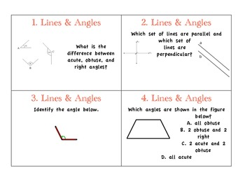 Types of Lines and Angles