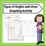 Types of Lines and Angles Graphing Activity