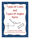 Types of Lines and Angles Sorts