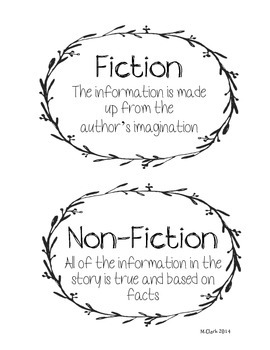 Types of Literature Signs