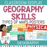 Types of Maps: Classroom Posters - Geography Skills