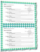 Types of Maps Guided Notes Worksheet Template