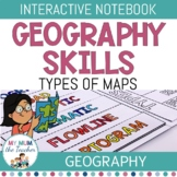 Types of Maps: Interactive Notebook - Geography Skills