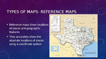 Types of Maps, Map Projections, and Mapping Technologies