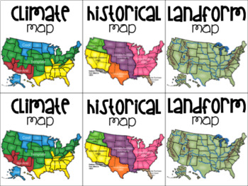 Types of Maps Memory Game