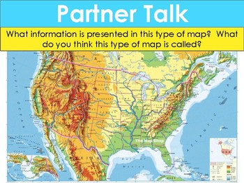 Types of Maps PPT Lesson and notes handout