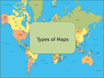 Types of Maps PowerPoint