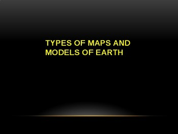 Types of Maps / Projections and How to Read / Use them