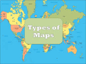 Types of Maps - Reference and Thematic (Pp & Chart Notes)