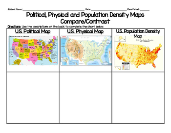 Types of Maps T-Chart