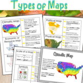 Types of Maps Worksheets