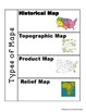 Types of Maps and Map Skills Interactive Geography Notebook
