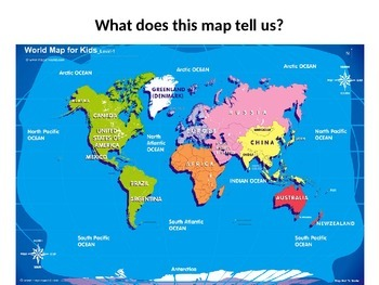 Types of Maps and World Map Labeling Lesson