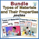 Types of Materials and Properties of Matter Posters BUNDLE
