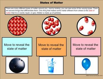 Types of Matter SMARTBoard Multipack - A Fifth Grade Introduction