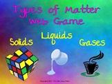 Types of Matter Web Game