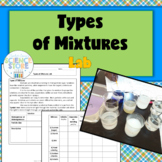 Types of Mixtures Lab