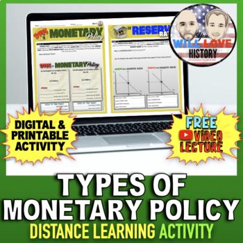 Types of Monetary Policy Activity