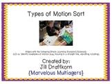 Types of Motion Sort