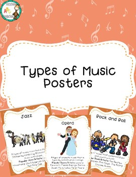 Types of Music Posters