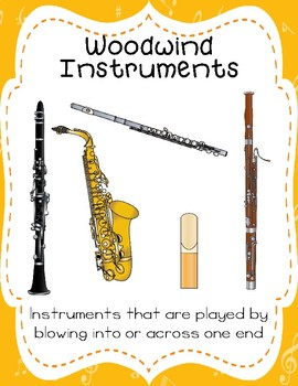 Types of Musical Instruments Posters