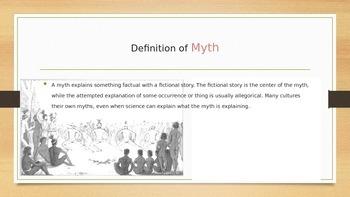 Types of Myths