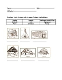Types of Native American Homes Test