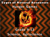 Types of Natural Resources: Hunger Games