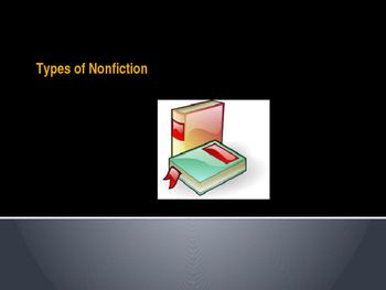 Types of Nonfiction