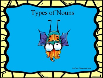 Types of Nouns Game