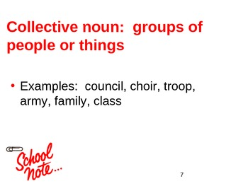 Types of Nouns Notes