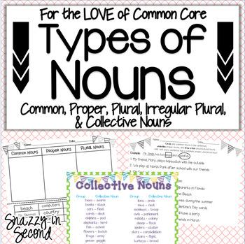 Types of Nouns (Common Core)