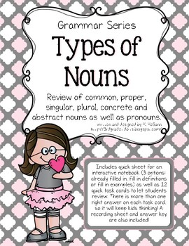 Types of Nouns Review