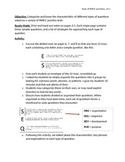 Types of PARCC Questions - Set 2: Text Structure