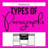 Types of Paragraphs Workbook