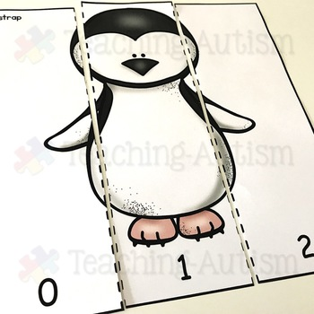 Types of Penguin Number Puzzles Counting to 10