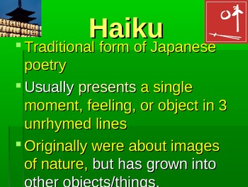 Types of Poems PowerPoint