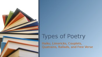 Types of Poetry Presentation