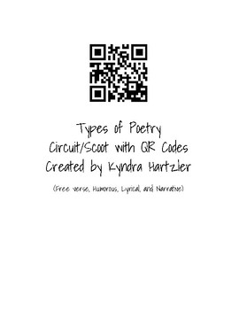 Types of Poetry QR Circuit