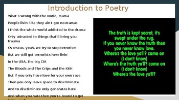 Types of Poetry Slideshow